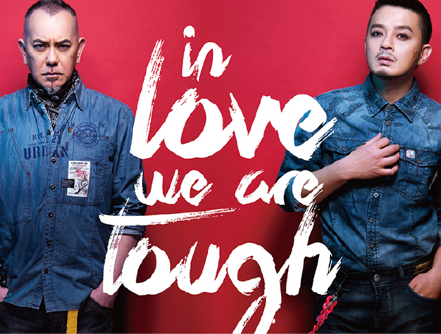 in love we are tough